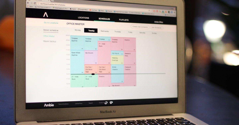 Ambie schedule